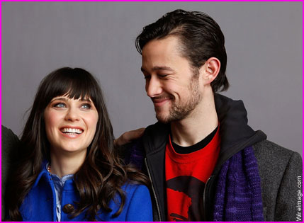 The stars of the movie:  Zooey Deschanel and Joseph Gordon-Levitt