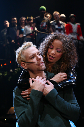 Adam Pascal as Roger & Lexi Lawson as Mimi
